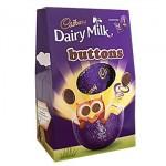 Cadbury Dairy Milk Buttons - Medium Easter Egg - 128g