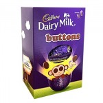 Cadbury Dairy Milk Buttons - Small Easter Egg - 85g