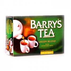 Barrys Tea - Irish Breakfast - 80 Tea Bags - GREEN (250g)