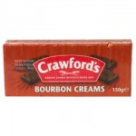 Crawfords Bourbon Creams Biscuits (150g) (Best Before: 06.04.19)