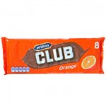 McVities Club Orange Biscuits (8 pack -176g) (Best Before: 24/12/16) **Buy 2 for $10**