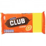 McVities Club Orange Biscuits (6 pack) PMP (Best Before: 29.09.18)