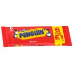 McVities Penguin PMP (6 Pack) (Best Before: 02.02.19)