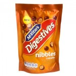 McVities Digestives Nibbles - Caramel (120g) (Best Before: 14/01/18)
