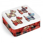 Campbells Tartan Scottie Tin - Shortbread Fingers - 90g