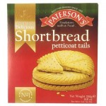 Patersons Shortbread Petticoat Tails (250g) (Best Before: 06/2019)  (REDUCED - 50% OFF)