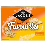 Jacobs Savoury Favourites Biscuits - 200g