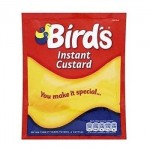 Birds Instant Custard Powder SACHET - 75g (Best Before: 30.04.21)  **50% OFF**
