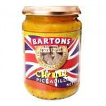 Bartons CHILLI Piccalilli (340g) (Best Before: 28/08/18) **NEW**