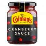 Colmans Cranberry Sauce (165g) (Best Before End: 09/2019) (CLEARANCE)