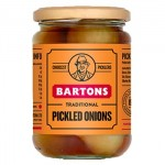 Bartons Traditional PICKLED ONIONS (450g) (Best Before 01.12.22)