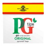 PG Tips Tea - 40 Tea Bags (125g) Price Marked (Best Before End: 09/2019) (CLEARANCE)