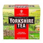 Yorkshire Tea - RED - 80 Tea Bags - PMP 250g (Best Before End: 10/2019) (CLEARANCE - SAVE $5)
