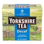 Yorkshire Tea - DECAF - 80 Tea Bags - 250g (Best Before: 10/2020)