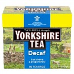 Yorkshire Tea - DECAF - 80s - Price Marked (Best Before: 30.09.19) (REDUCED)