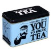 Tea Caddy - England Needs You to Drink Tea - Gift Tin (Best Before: 03/2020) (REDUCED)