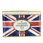 Union Jack Caddy - English Breakfast Tea - Gift Tin - 40 Tea Bags (Best Before: 05/2019)