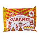 Tunnocks Caramel Wafer Biscuits (4 pack) (120g) (Best Before: 11/11/17)