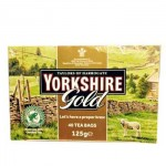 Yorkshire Gold Tea - 40 Tea Bags - Price Marked (Best Before End: 09/2019) (CLEARANCE - 50% OFF) (7 Left)