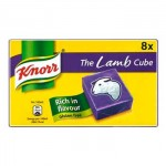 Knorr LAMB Stock Cubes (8pk) Gluten-Free (BBE: 05/2019)