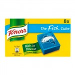 Knorr Fish Stock Cubes (8pk) Gluten-Free (BBE: 02/2018) **NEW**