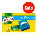Knorr FISH Stock Cubes (8pk) (Best Before: 04/2019) (REDUCED - 1 Left)
