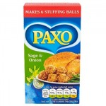 Paxo Sage & Onion Stuffing Mix - 85g (BB: 31.12.21)