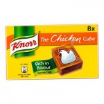 Knorr CHICKEN Stock Cubes (8pk) Gluten-Free (BBE: 11/2021)