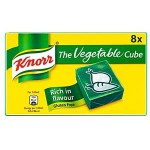 Knorr VEGETABLE Stock Cubes (8pk) (BBE: 08/2021) (4 Left)