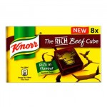 Knorr Rich Beef Stock Cubes (8pk) Gluten-Free (Best Before: 03/2018) **NEW**