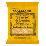 Jakemans HONEY & LEMON Menthol Sweets (100g) (Best Before:  08/2020)