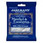 Jakemans MENTHOL & EUCALYPTUS - 100g (Best Before:  01/2021)