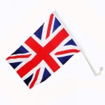British - Union Jack Car Flag (2 pack) (40x27cm) (3 only)