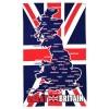 Tea Towel - Map of Great Britain Map Tea Towel