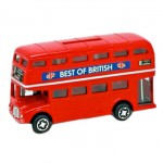Best of British Double Decker Bus  - Money Box (Die-Cast) - Small