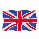 British - Union Jack Flag (Large) (150x90cm) (5x3ft) (Availability 20)