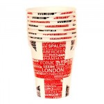 British - Union Jack Paper Cups (8 Pack)