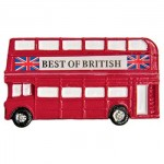 Magnet - Double Decker Bus Magnet (50g) (3 Only)