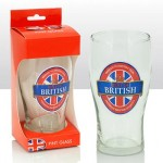 Best of British Pint Glass