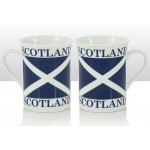 One Scotland - Scottish Saltire Mug (Lippy)
