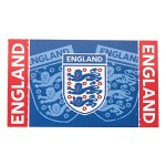 England FA Flag - Blue England 3 Lions Football Crest - Body Flag (150x90cm) (3x5ft) (Availability 2)