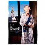 Tea Towel - HM Queen Elizabeth II - John Swannell Windsor Collection
