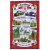 "Tea Towel - Scotland ""Wish You Were Here"""