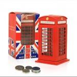 British Telephone Box - Money Box - Small (Die-cast)