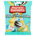 Maynards Bassetts Mint Favourites - 192g (Best Before: 01.03.21) **60% OFF**