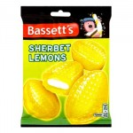 Sherbet Lemons (Bassetts) (200g Bag) (Best Before: 16.11.18) (REDUCED)