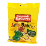 Bassetts Jelly Babies (190g Bag) (Best Before: 25/02/18)