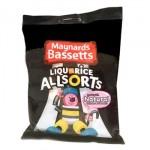 Bassetts Liquorice Allsorts (190g Bag) (Best Before: 12/01/18)