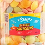 Flying Saucers (Tub 500pcs) (625g) (Best Before: 06/2018)