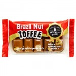 Walkers Toffee Block - BRAZIL NUT Toffee (100g Block) (Best Before: 24.01.19)